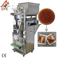 Chinese food condiments pasty seafood sauce organic oyster sauce packaging machine
