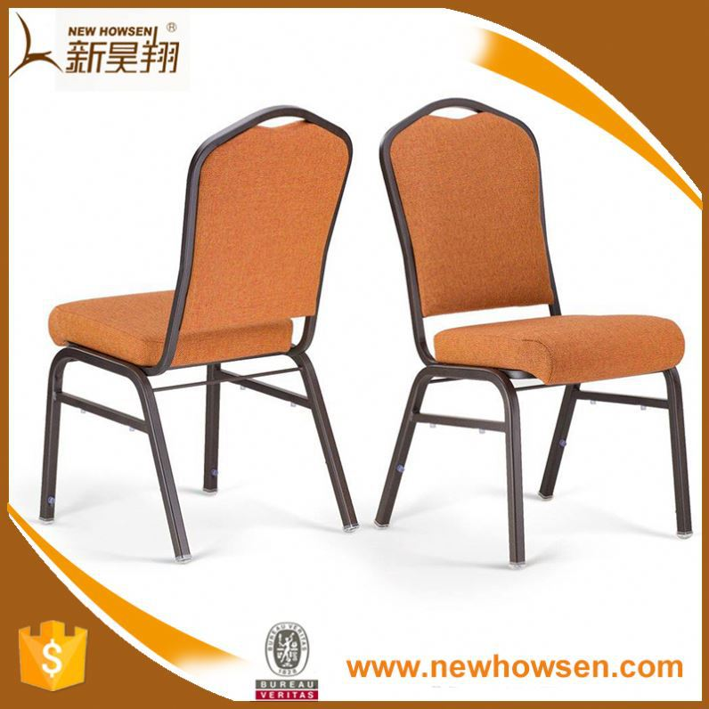 Dining Chair Stackable Modern Conference Hotel Banquet Chair Woden