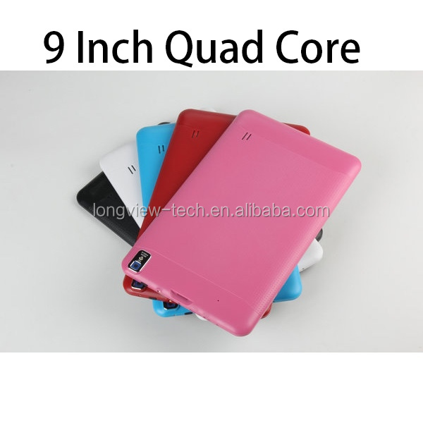9inch 800x480 cheap OEM tablet pc Allwinner A33 Quad Core 512MB 8GB ROM wifi 3000mAh android tablet without sim card