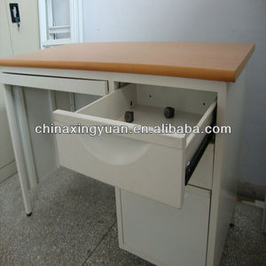 Hot sale office furniture folding metal computer table/computer desk