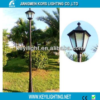 Garden Antique European Style Street Lighting Pole Light(K32139XL HP)