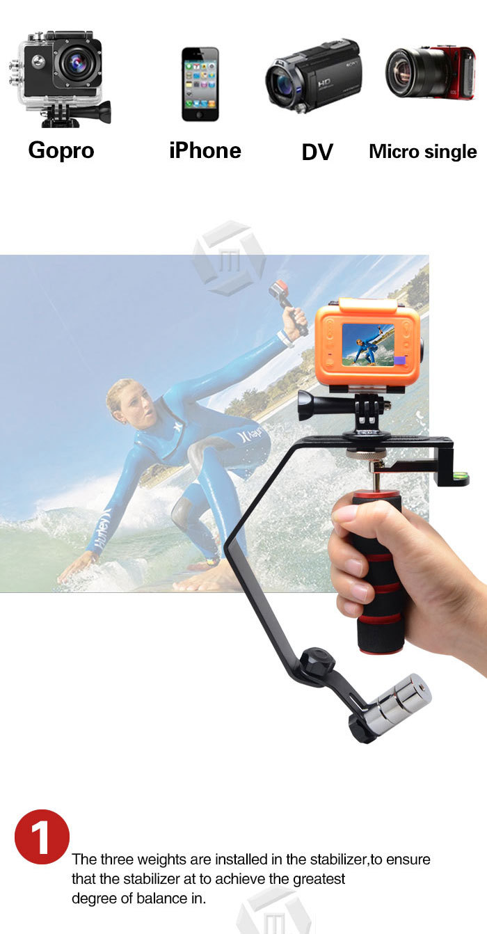 Mcoplus Mobile Phone Accessory Cell Phone Stabilizer Steadycam For ...
