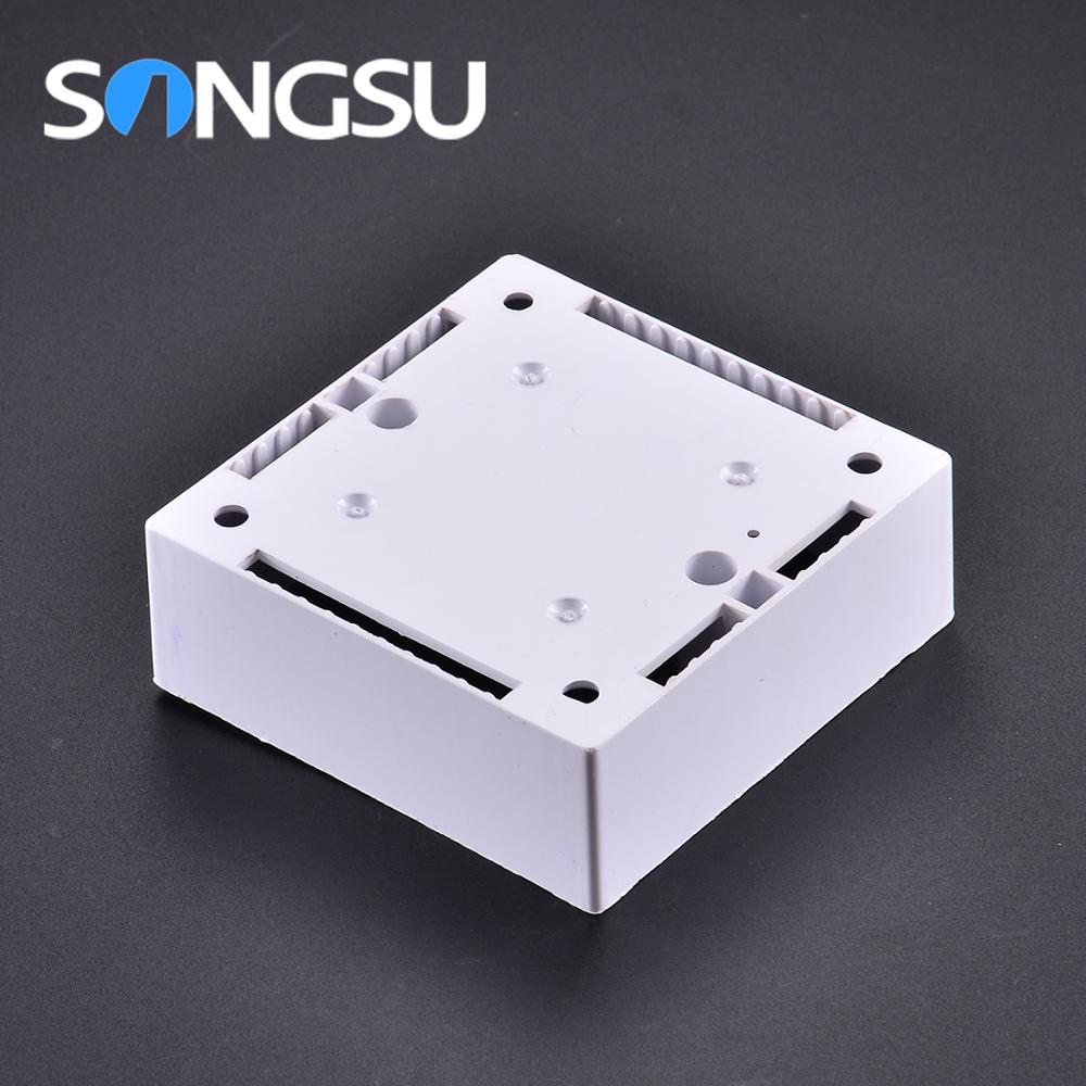 Factory wholesale Fire-proof junction plastic box enclosure electronic,pvc electrical switch box
