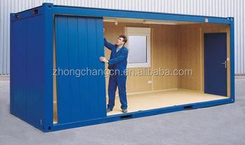 Container aménagé de bureau de chantier info container