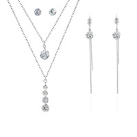 Fashion Silver Plated Jewelry Sets 2017 Wholesale NS803021