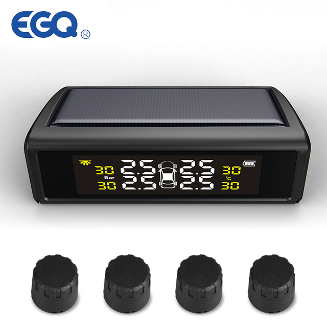 (EXTERNE) Hot selling Solar Power tire pressure monitoring system auto TPMS