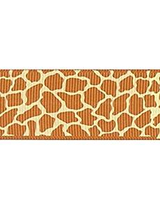 98f8320c9168 Get Quotations · 3 8 Inch African Grassland Custom Giraffe Pattern Rib  Ribbon Printing Ribbon- 25 Yards