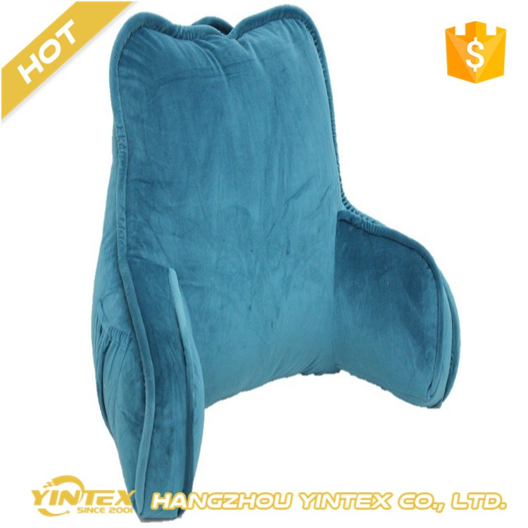 Shredded Memory Foam Backrest Pillowback Relax Pillow With Arms