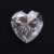 Heart cut synthetic moissanite/ White Moissanite price per carat/ Moissanite Diamond Gemstone