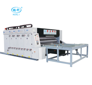semi-auto hot sell carton box printer slotter and die cutter machine in China