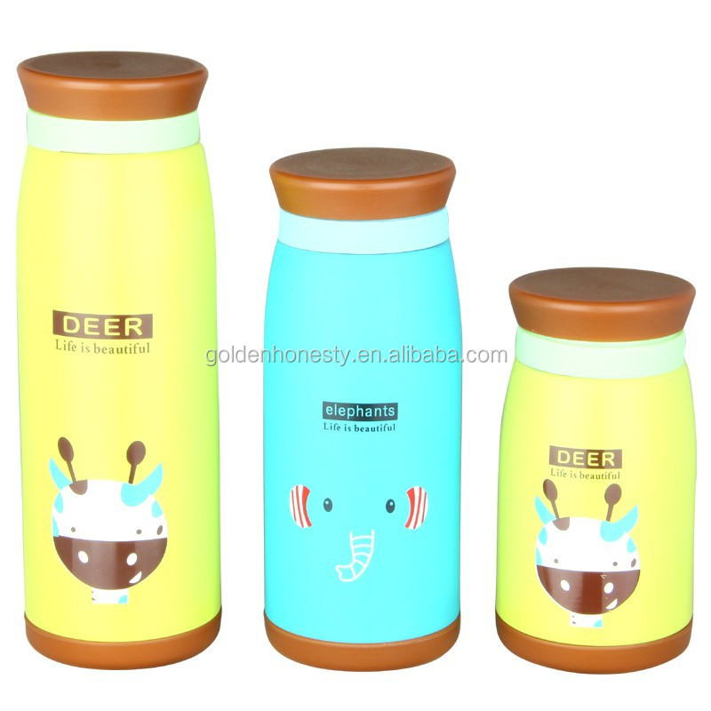 children popular cartoon thermos with sevral capacity
