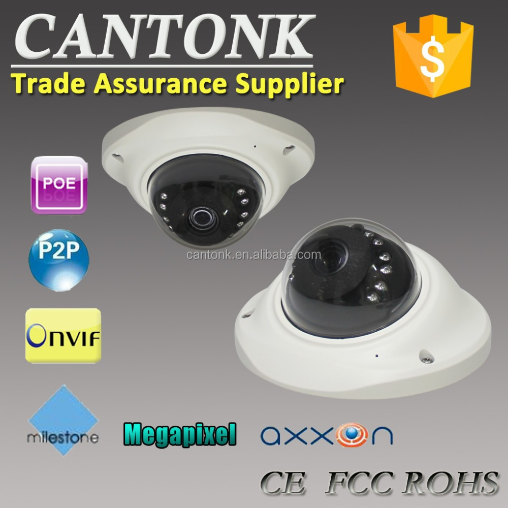 Wholesale IPC Cantonk IR IP Camera 2MP Full HD Network IR security cctv Dome Camera Support POE
