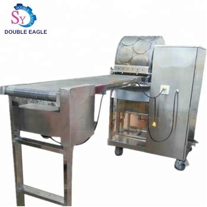 big output gas heating type Egg Grain Lumpia Sheet Tortilla Injera Wrapper Spring Roll Making Machine/ lumpia wrapper machine