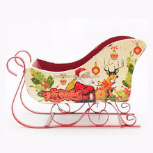 christmas sleigh craft,christmas decoration supplies,wooden christmas decoration