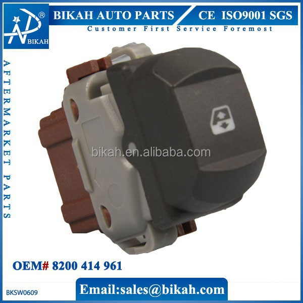 OEM# 8200414961 FOR RENAULT MEGANE II Power Window Switch