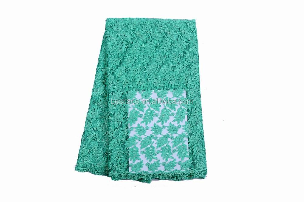 6da955be0d4 Chaude turquoise bleu dentelle tissu broderie pour mariage robe de mariée  dentelle