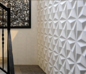 GS-9503 Light weight easy install PVC 3D wall panel