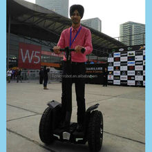 Electric personal transporter two wheel self balanced vehicle