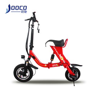 2018 OEM factory price 12 inch children folding e-bike 36V batteries electric bikes 500W green power city electric bicycle