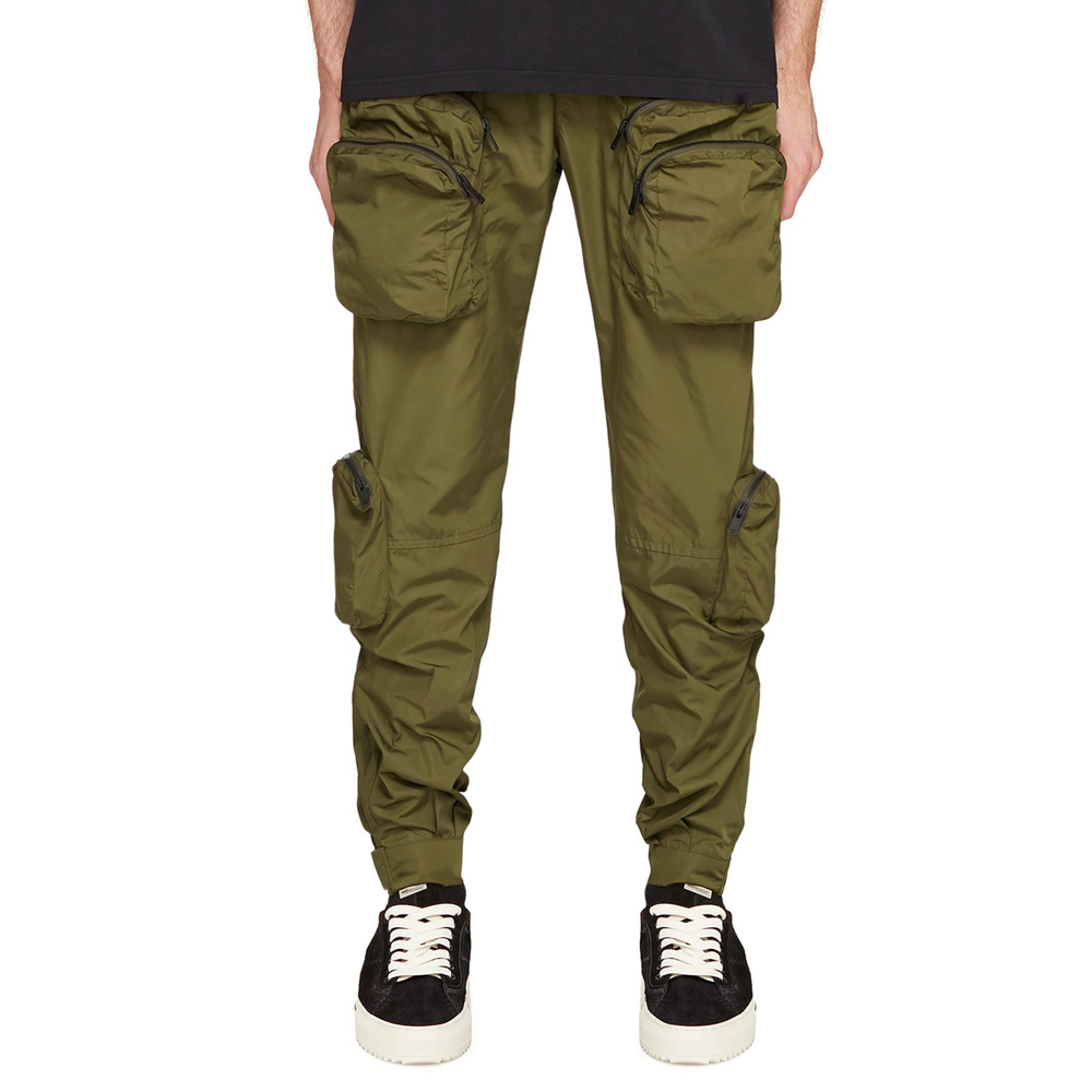 DiZNEW Wholesale Long Cargo Big Pocket Cotton Blank Pants Men