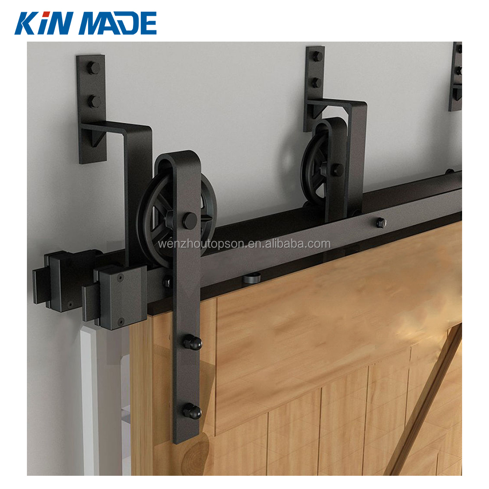 Vintage Bypass Sliding Barn Double Door Hardware Track Kit Closet Patio  Rail - Buy Sliding Barn Door Hardware,Modern Barn Door Hardware,Partition  Door