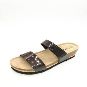 764c5412b1ee fashion high heel wedge EVA slippers slide sandals for girls