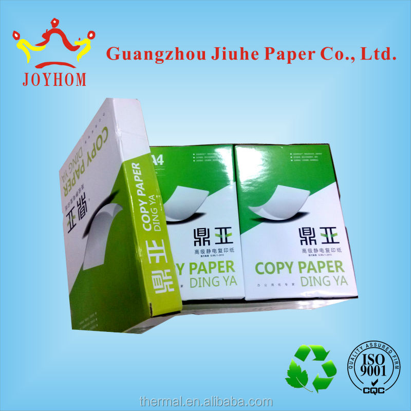 Elegant apperance A4 copy paper in street price from China