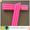 Promotional magic color changing wax non drip taper candles