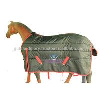 Horse Stable Rug Black 200 GSM 420 Denier Matty .