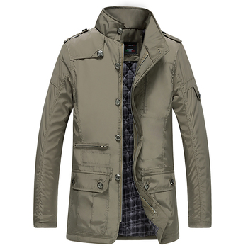 cz5001a New arrival high quality mens plus size outerwear cotton winter warm coat long thick waterproof jacket for men