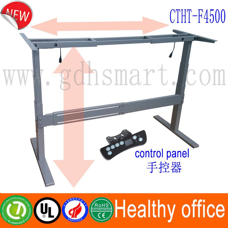 Electric Standing Desk Frame Adjustable Table Height Mechanisms ...