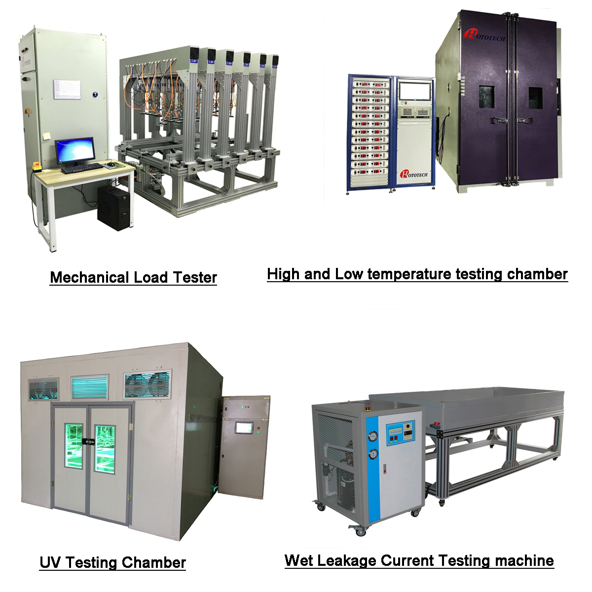 IEC61215-2:2016 Damp Heat Testing Chamber/ Constant temperature and humidity testing chamber /PV Module testing machine