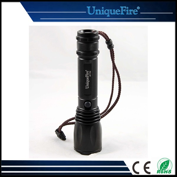 2016 UniqueFire Hot Sale T02 LED Mobile Phone Rechargeable Torch Flashlight