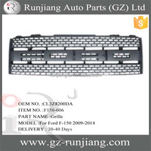 Hot Sale !!! plastic front grille for Ford F-150 Pick Up trucks 2009-2014