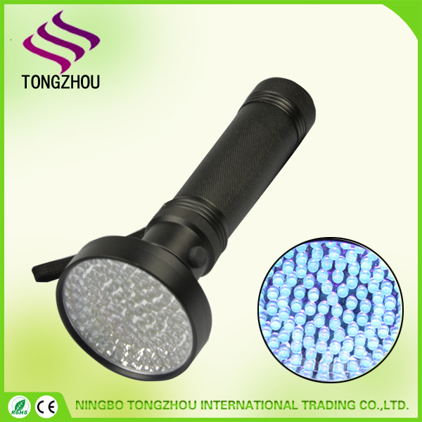 100 LED UV Flashlight ,UV Ultra Violet Blacklight LED Torch, UV Blacklight Flashlight