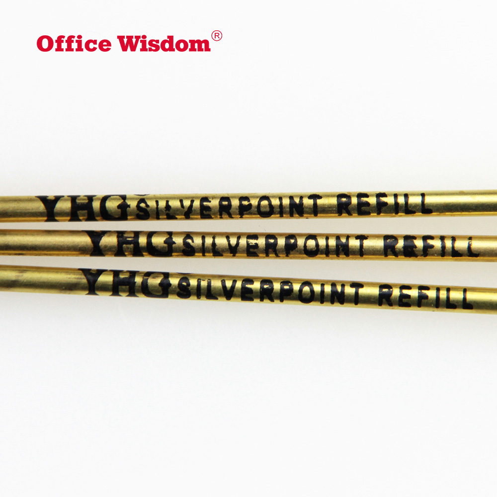 Brass leather marking refills Skin Tattoo Pen Refill custom made logo best for writing
