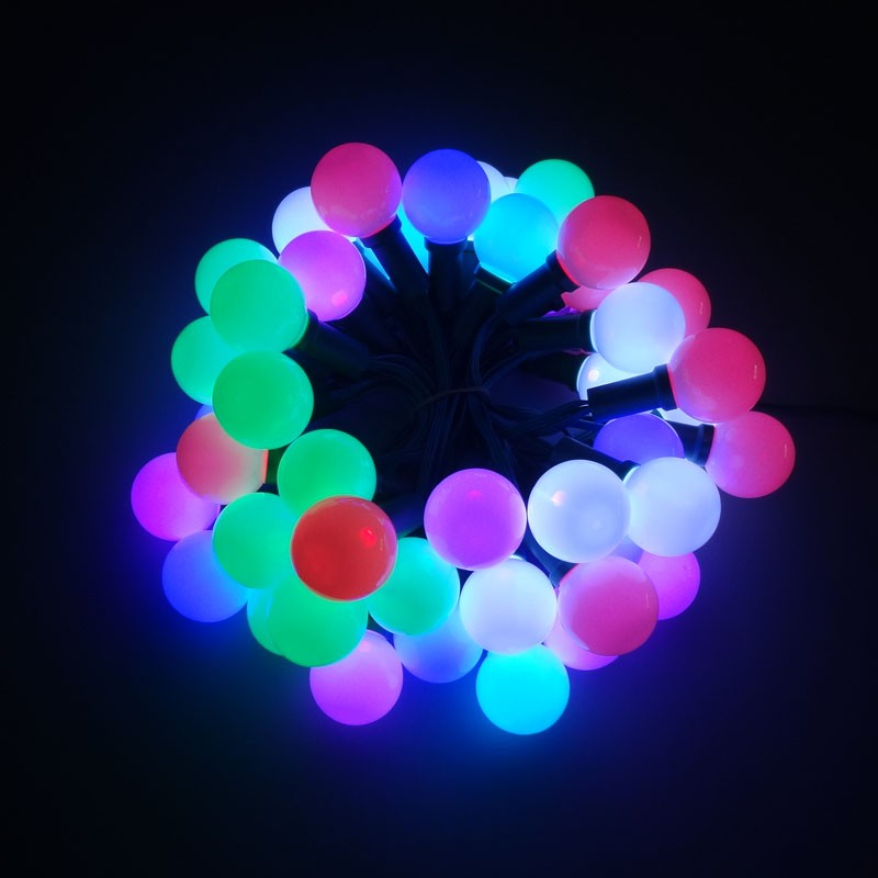 DC12V G40 programmable RGB Led Chritmas string light, View led string light, Greenlantern ...