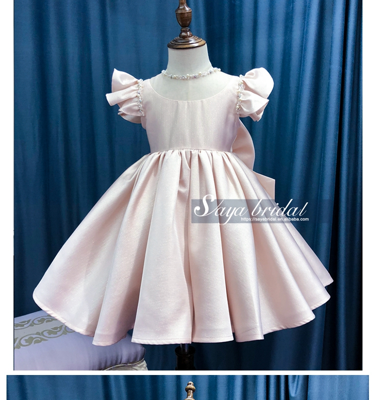 2018 Children flower girl princess wedding dress