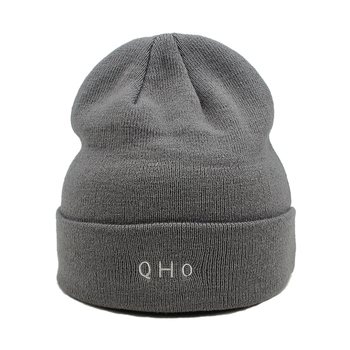 569d7ea0a9f wholesale cheap custom embroidered knitted winter warm cap hats beanie for  men