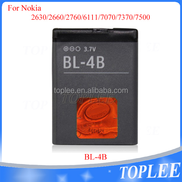 Original quality gb/t18287-2013 mobile phone battery rechargeable replacement battery for Nokia original mobile phone