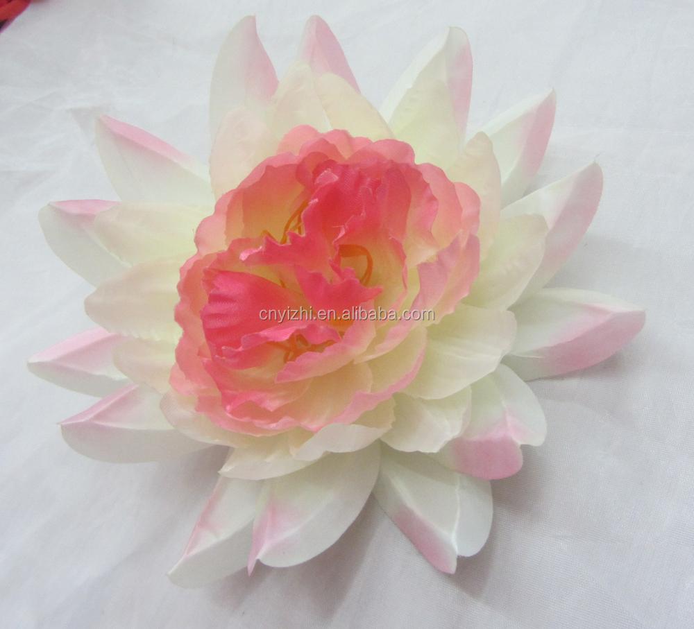 Artificial flower peony head fabric flower making huge wholesale artificial flower peony head fabric flower making huge wholesale silk lotus heads izmirmasajfo