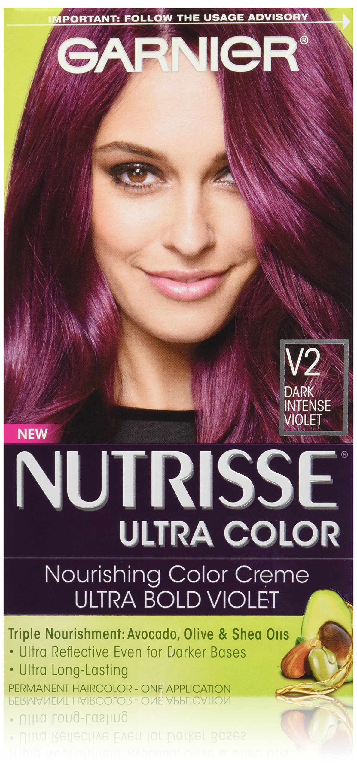 Buy Garnier Nutrisse Ultra Color Nourishing Hair Color Creme V2