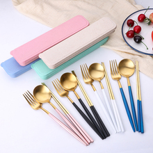 Event Gift Food Grade Luxury Portable Cutlery Set