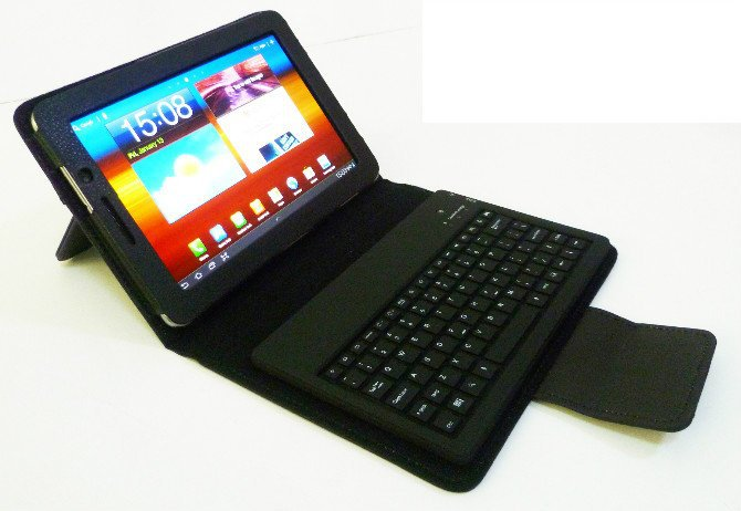 7 P6800 Buy Cover Case Samsung Keyboard For Leather Tab 7 n0PwON8kX