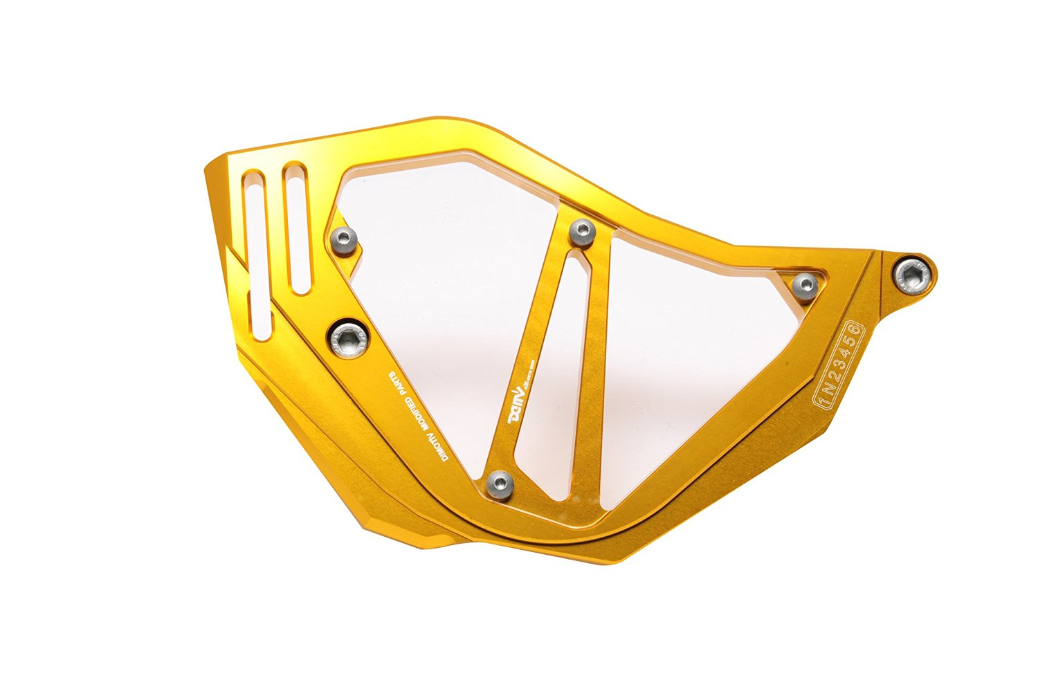 Dimotiv DMV Front Sprocket Cover for Honda NC700S/X 12-14, NC750S/X 13-14 (Gold)