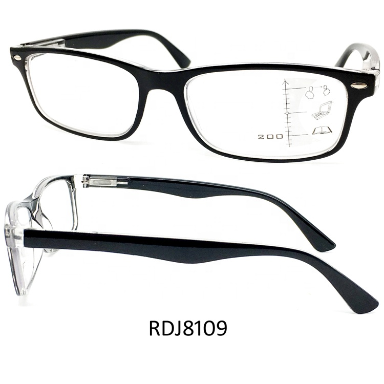 Fashion Women Progressive Reading Glasses with blue blcking lens