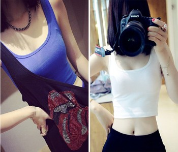 Best Selling Simple Fashion Yoga Tops Women's Fitness Sportswear Gym Clothes Sports Shirt Running Vest