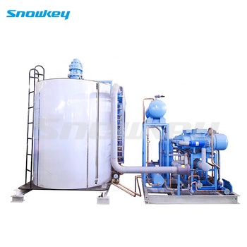 Snowkey Commercial Flake Ice Machine 60 ton for Ice Plant Price