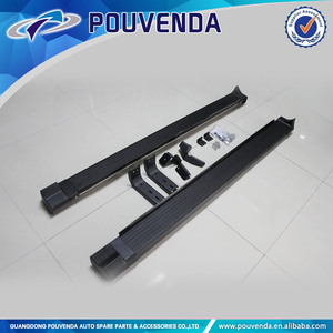 Black Running Board Side Step Bar Running board for Toyota RAV4 2013+ SUV auto accessories