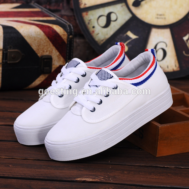 Female students casual shoes white sneakers shoes